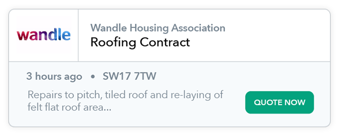 Roofing Contract